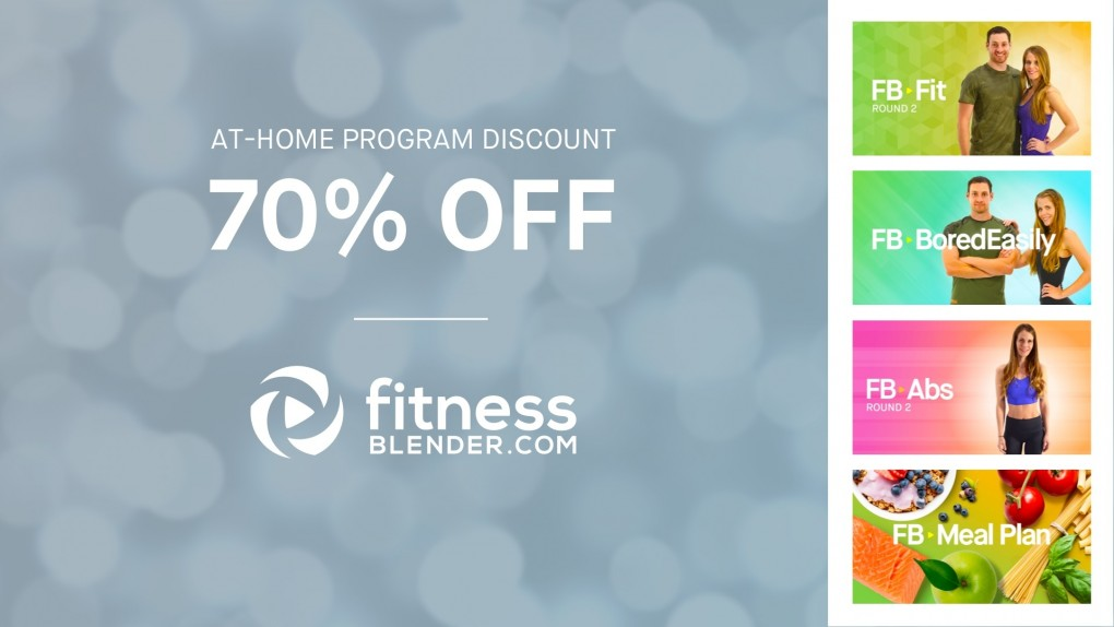 Another 70% Discount on At-Home Workout Programs (and Our Meal Plan)