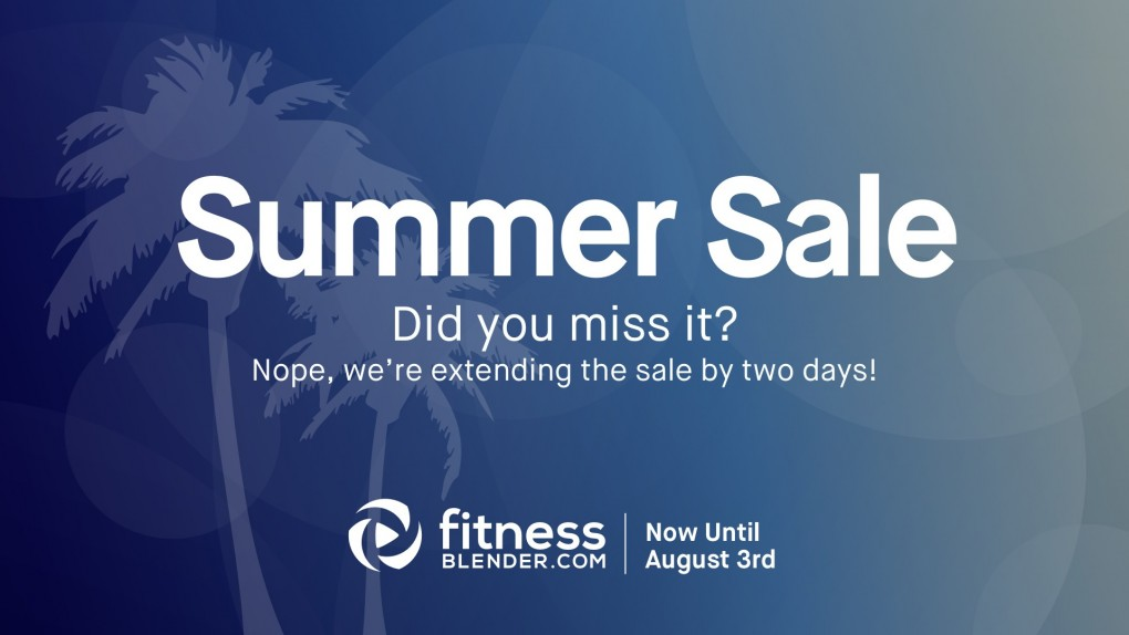 35% Off Site-Wide Summer Sale (extended through August 2)!