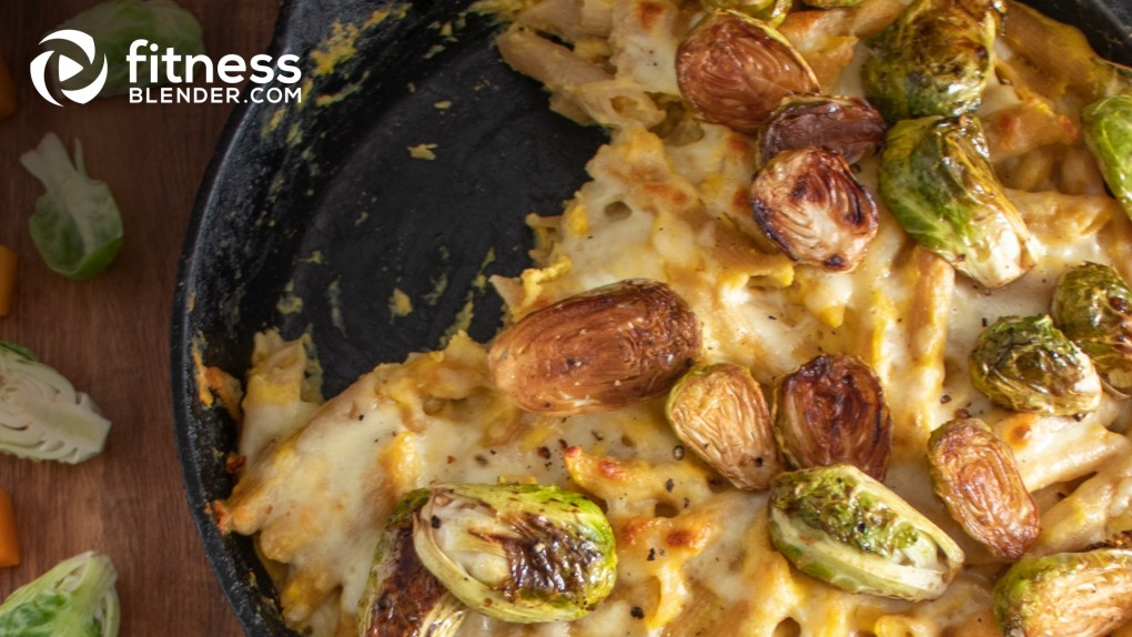 Brussels Sprout and Butternut Mac and Cheese