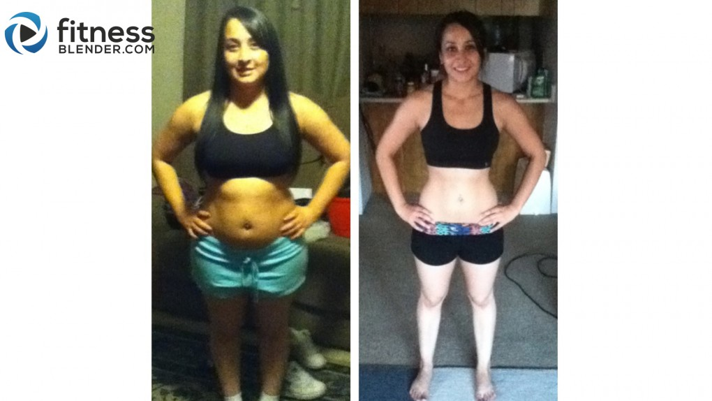 Andreina: I have gained happiness and confidence from eating health and exercising