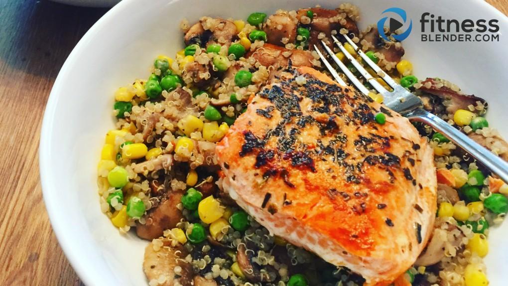 Salmon & Vegetable Stir Fry