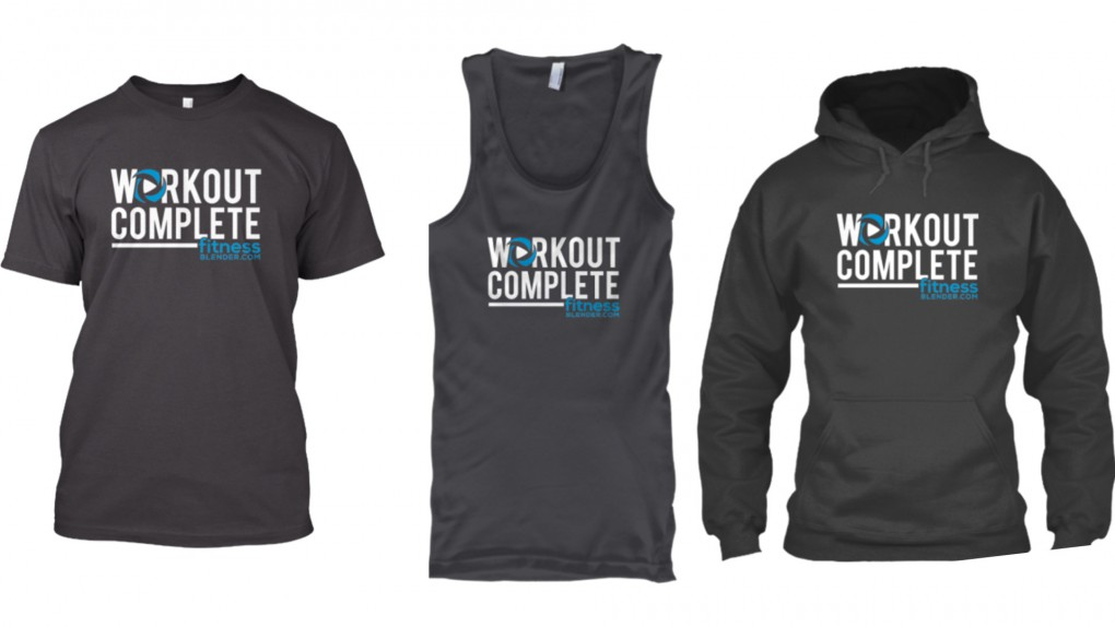 Limited Edition Fitness Blender T-Shirts, Tank Tops & Hoodies Now Available