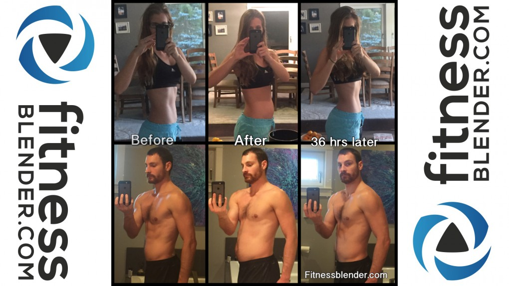 36 Hours of Body Fluctuation - Cheat Meal Before and After