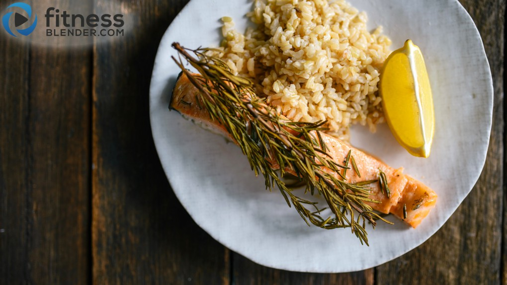 Rosemary-Roasted Salmon - Quick and Healthy Dinner Ideas