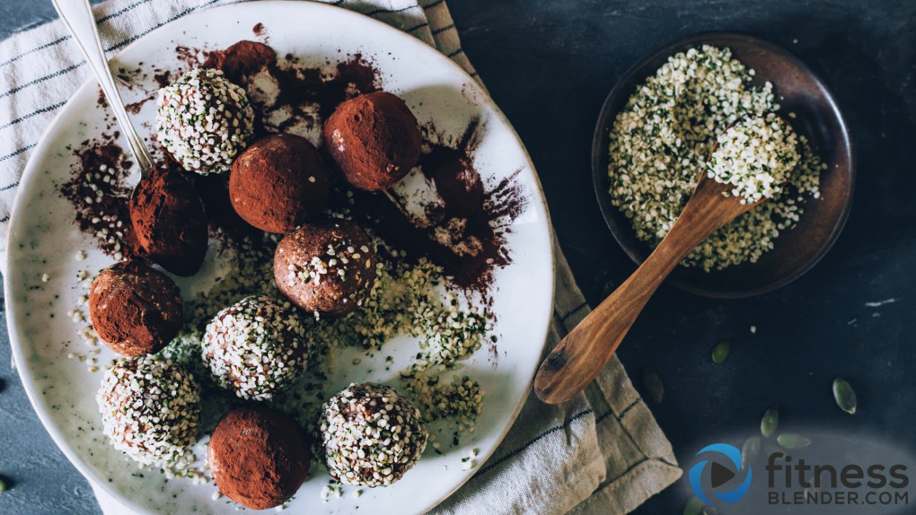 Raw Protein Power Chocolate Truffles