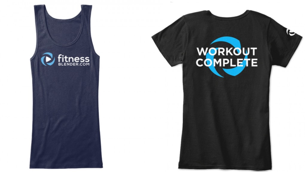 Fitness Blender Merch is here! Tees, tanks, hoodies, Workout Complete posters & more