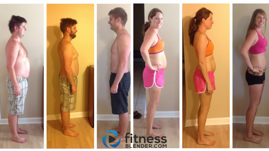 Fitness Blender 8 Week Program Results: Married Couple Loses 61 lbs Together