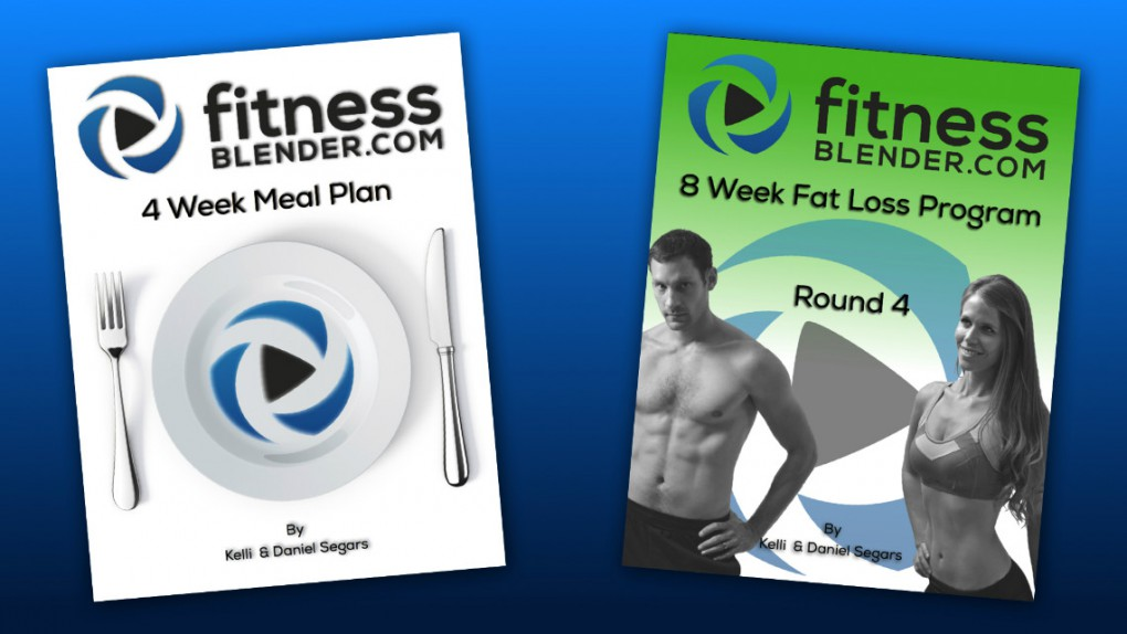Brand New 4 Week Meal Plan & 8 Week Fat Loss Program Now Available!