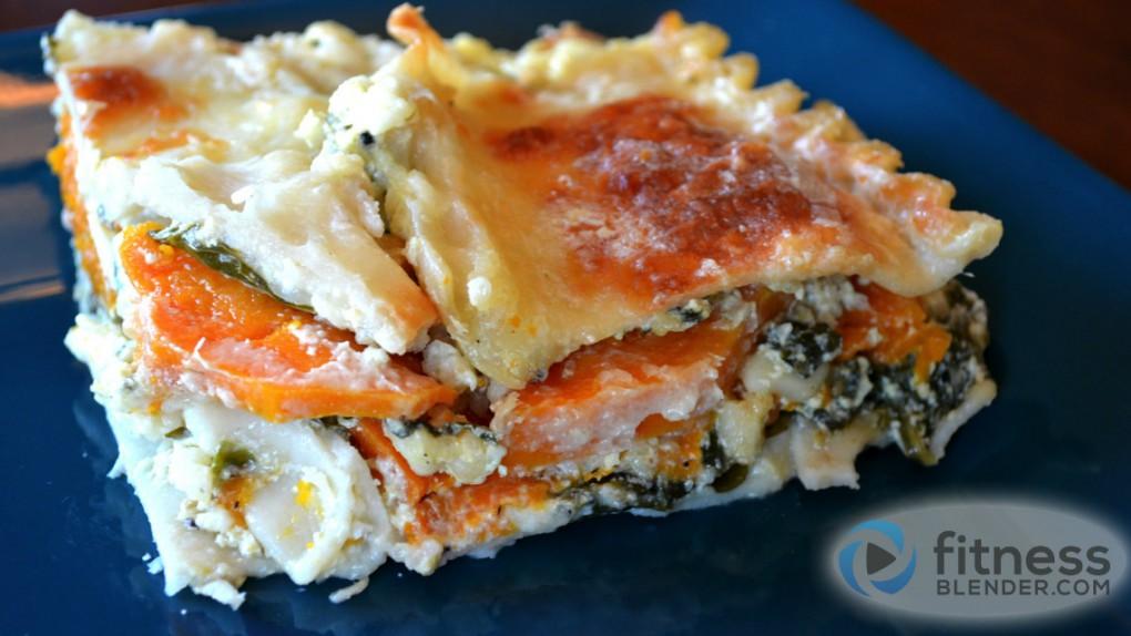 Healthy Butternut Squash Lasagna Recipe Fitness Blender