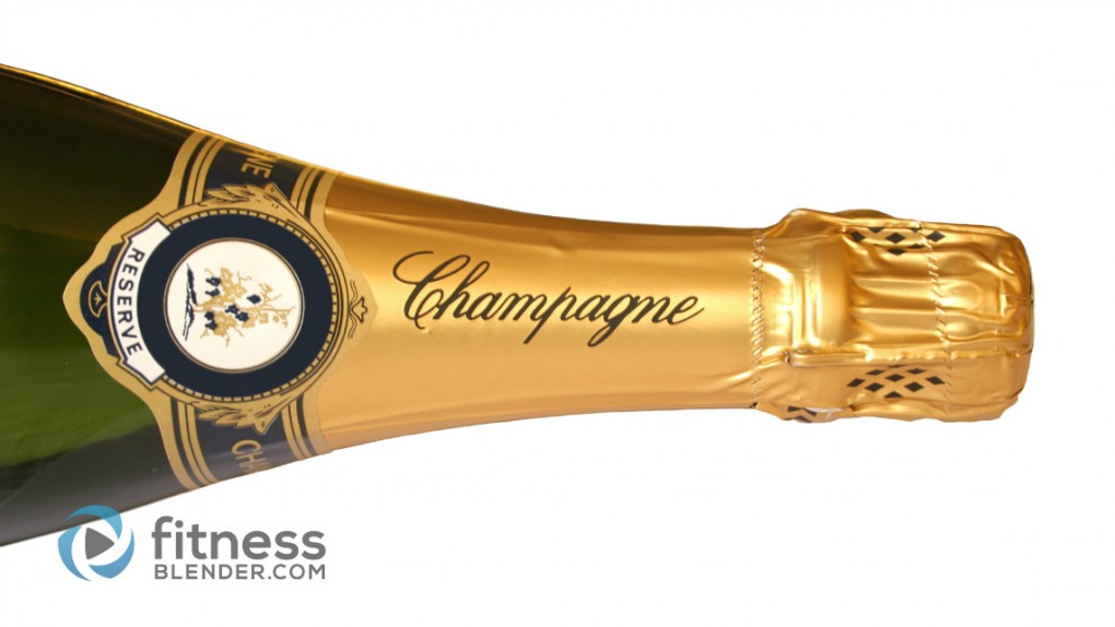 Calories in Champagne: How many Calories in a Glass of Champagne?
