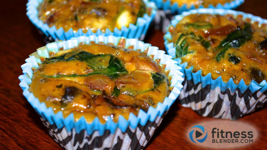Mini Quiche Cups - Healthy High Protein Grab & Go Snack