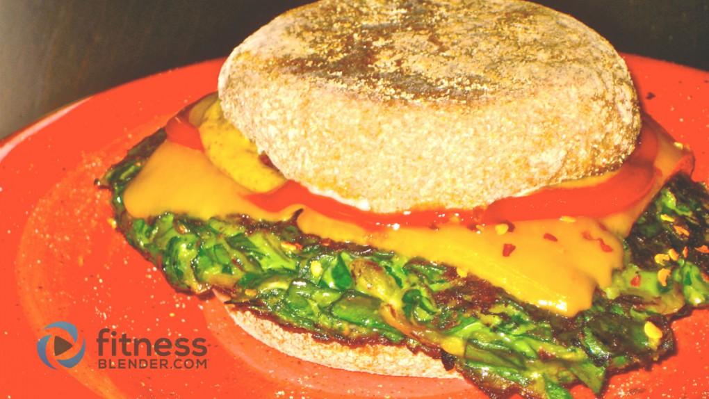 Spinach Burgers Recipe - Lean Green Vegetarian Burger Recipe