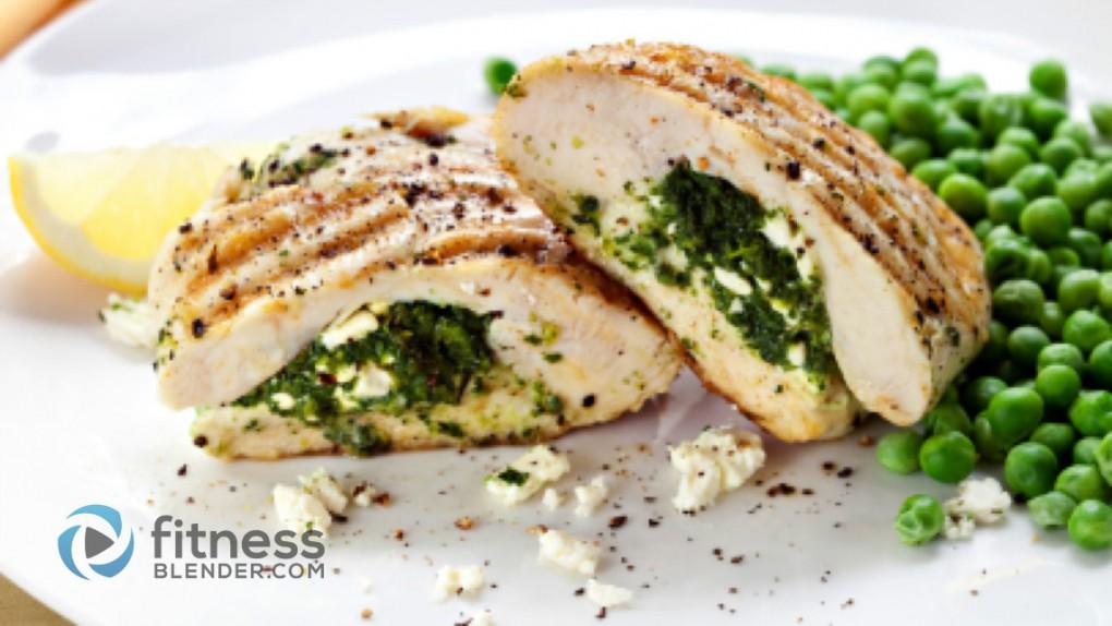 Spinach and Ricotta Stuffed Chicken: Healthy Stuffed Chicken Recipe