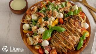 Delicious Caprese-Caesar Salad Fusion