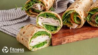 Quick and Easy California Turkey Wraps