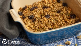 Homemade Maple-Oatmeal Granola
