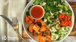 Spicy Buffalo Tofu Salad