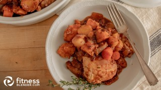 Slow Cooker Coq au Vin with Winter Root Vegetables