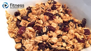 Oatmeal Cookie Granola - Healthy Granola Recipe