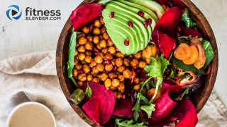 Harvest bowl with Chickpeas, Greens & Veggies
