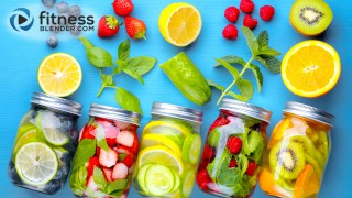 Are there benefits to infused water or detox water or is it a gimmick?