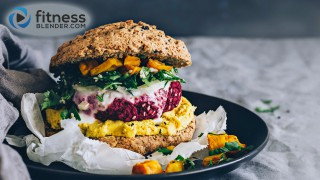 Nutrition Powerhouse Beet Veggie Burger