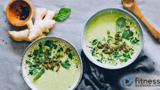 Nourishing Ginger & Broccoli Soup (vegan)