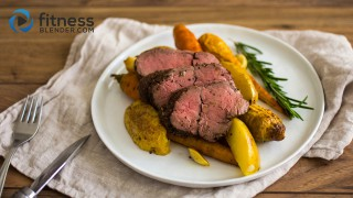 Slow cooker beef with root veggies