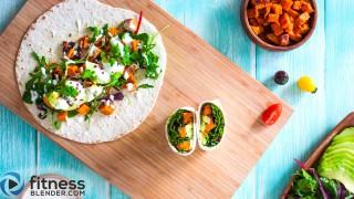 Easy To-Go Lunch: Sweet Potato Avocado Wraps