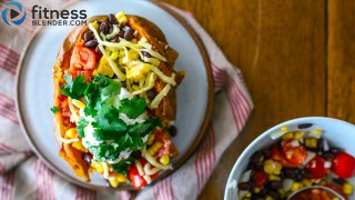 Hearty & Healthy Mexican-Style Stuffed Sweet Potatoes