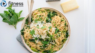 One-Pot Whole Wheat Veggie Pasta - Easy, Healthy Dinner Recipe