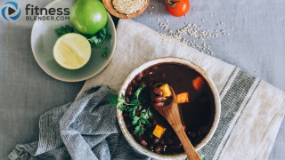 Protein-Packed Vegan Chili Soup