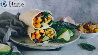 Wholesome breakfast burritos: Perfect on-the-go breakfast
