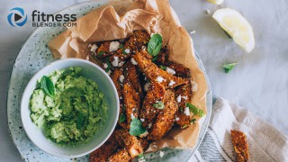 Smoky Sweet Potato Wedges with Mashed Avocado