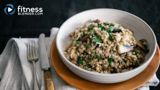 Barley Risotto with Mushrooms