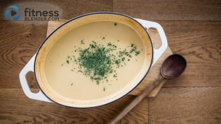 Healthy Comfort Food: Creamy Potato Soup