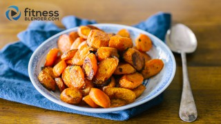 Maple Roasted Carrots - Easy Healthy Side Dish Recipe