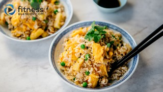 "Easy, Healthy Pineapple ""Fried"" Rice"