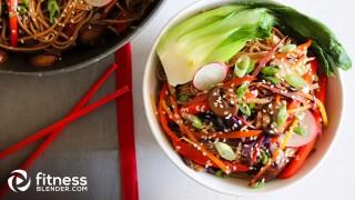 Healthy, Homemade Veggie Lo Mein