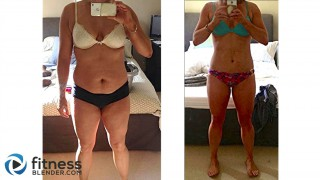 Fitness Blender Results - Before and After Video Round 2