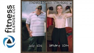 Daniel's Before and After: Down 100 lbs and Healthy