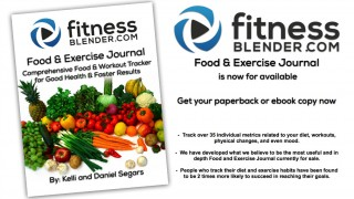 Fitness Blender Food & Exercise Journal Now Available!