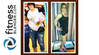 Lisette's Fitness Blender Before and After