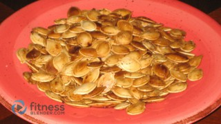 Roasted Pumpkin Seed Recipe - Pumpkin Seeds Nutrition Facts & Calories