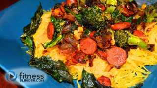 "Stir Fry and Spaghetti Squash Recipe - Vegetarian, Gluten Free ""Pasta"" Recipe"