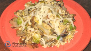 Veggie & Egg Scramble - Healthy Scrambled Eggs Recipe