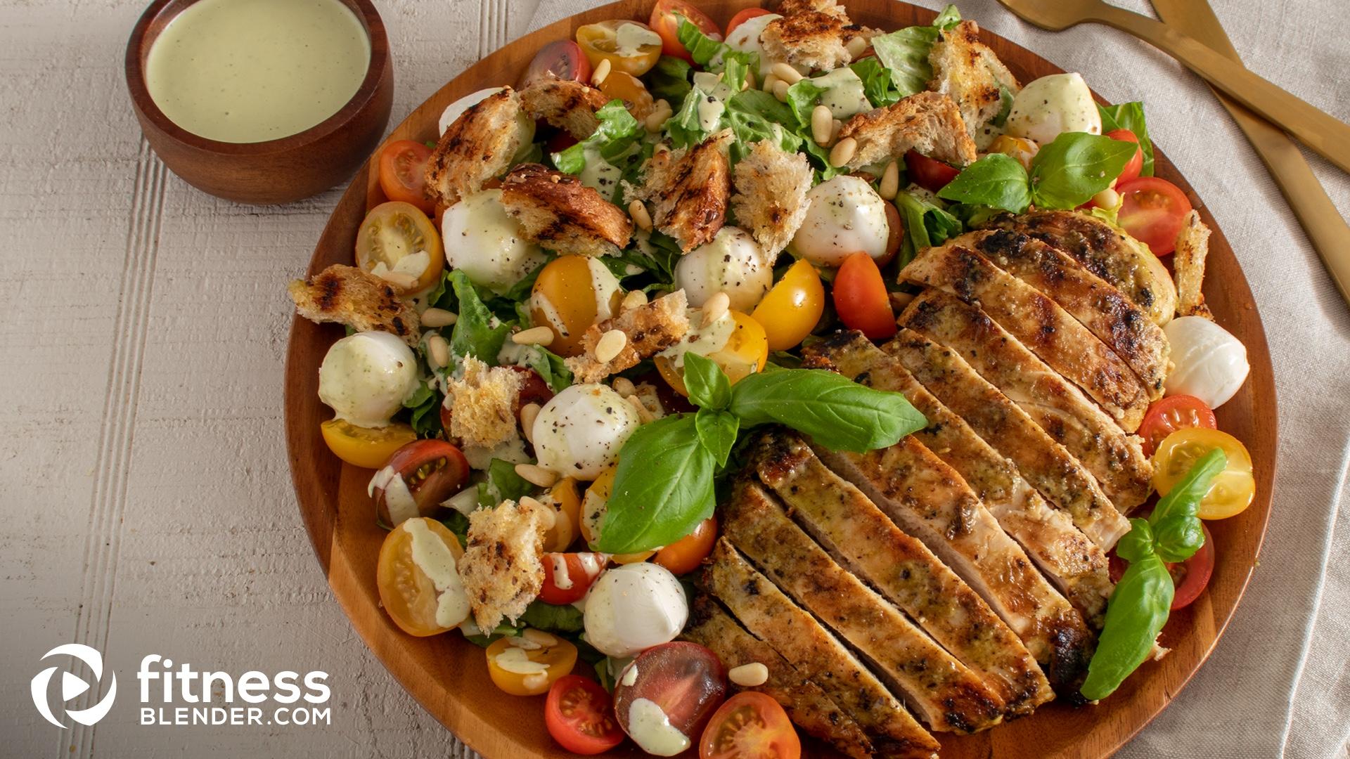 Delicious Caprese Caesar Salad Fusion Fitness Blender