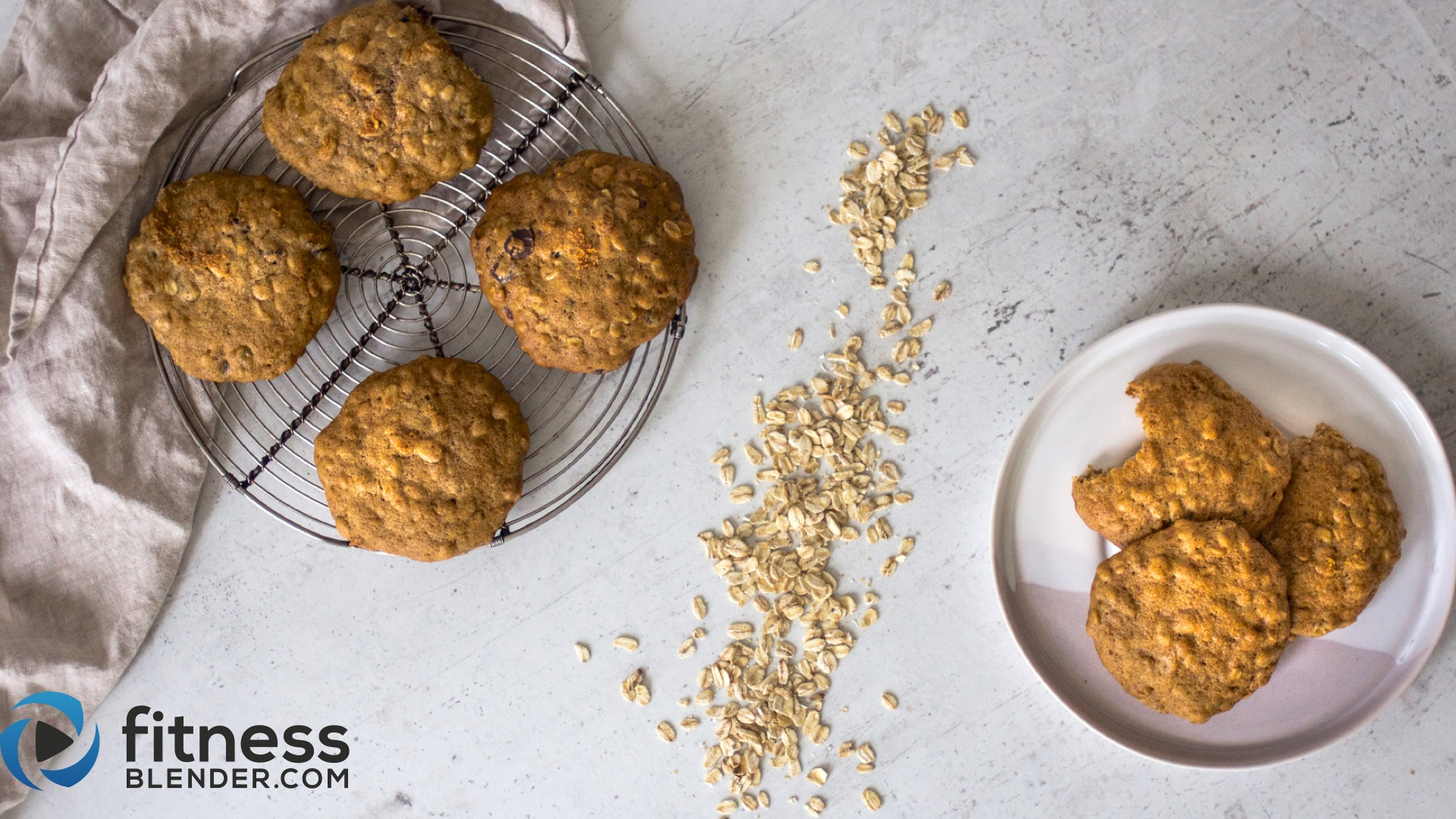 Healthy Oatmeal Cookies Simple Ingredients Easy To Make Fitness