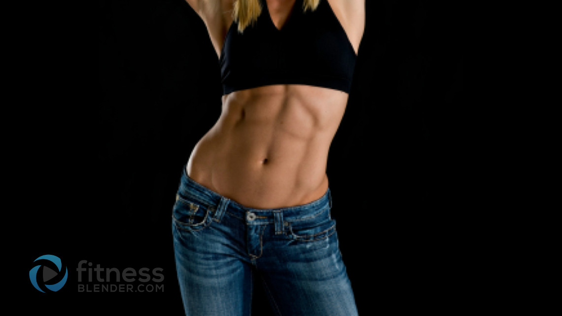How To Get A Toned Stomach 5 Steps Toning Your Fitness Blender
