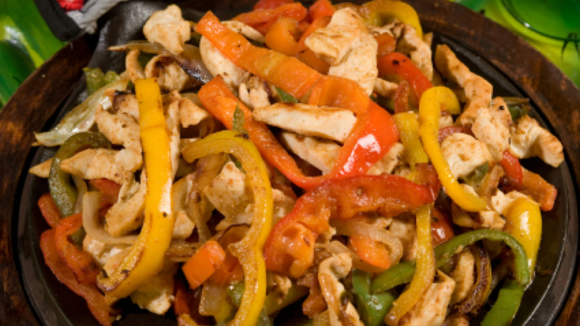 Healthy Mexican Food Chicken Fajitas Recipe